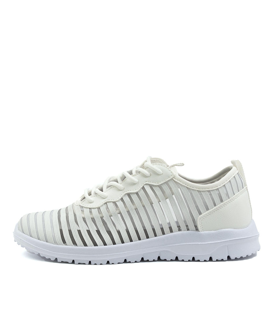 Buy Supersoft Calista Su White White Sole Sneakers online with free shipping