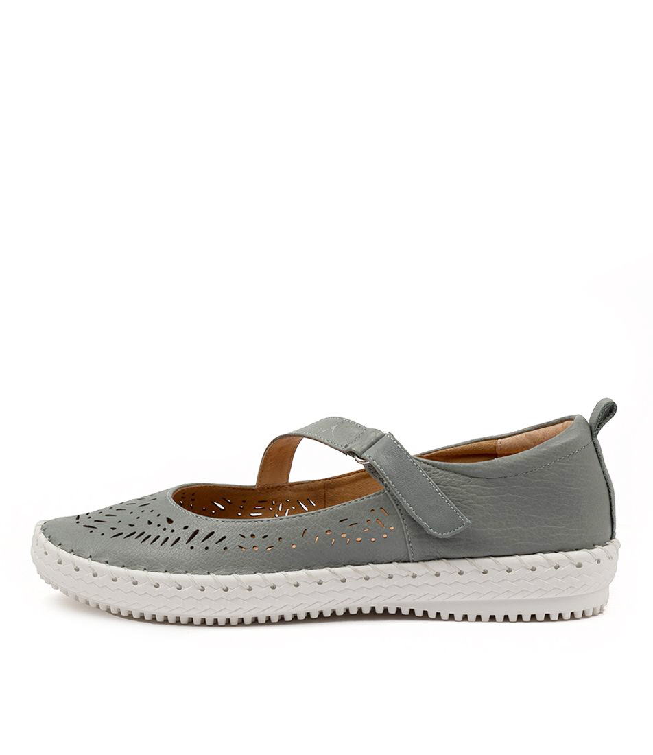 Buy Supersoft Wattle Su Lt Denim Flats online with free shipping