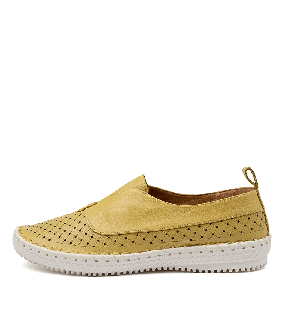 Buy Supersoft Weslee Su Lemon Flats online with free shipping