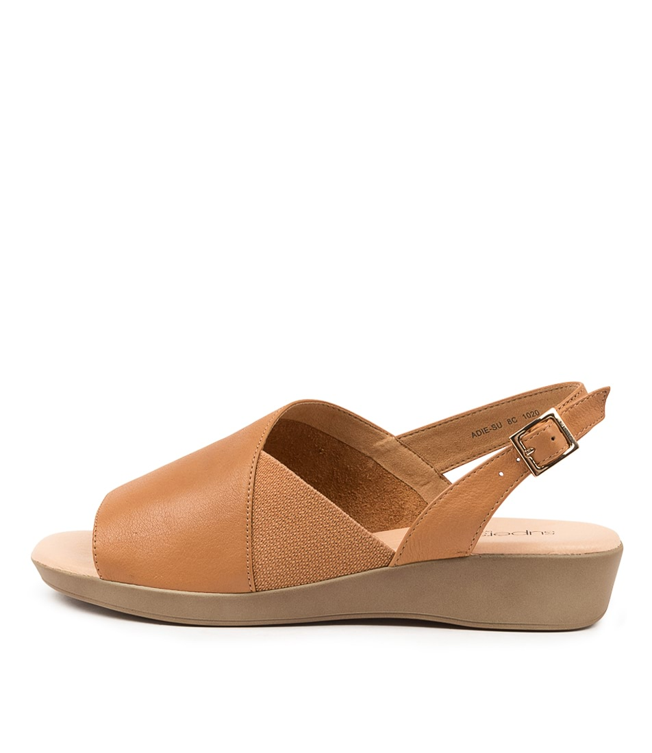 Buy Supersoft Adie Su Tan Tan Flat Sandals online with free shipping