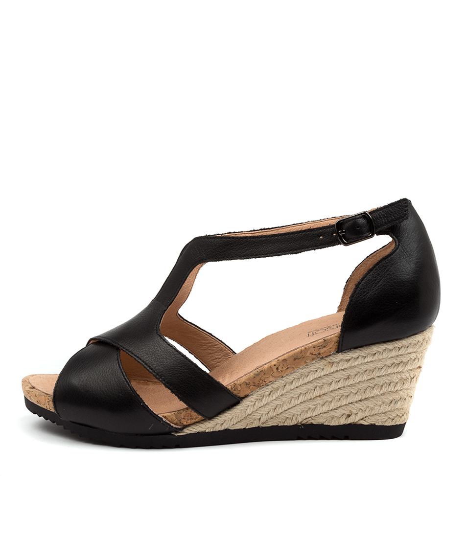 Buy Supersoft Adal Su BlackHeeled Sandals online with free shipping