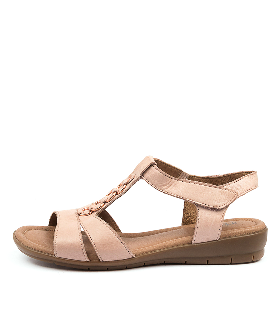 Buy Supersoft Frankie Su Blush Flat Sandals online with free shipping