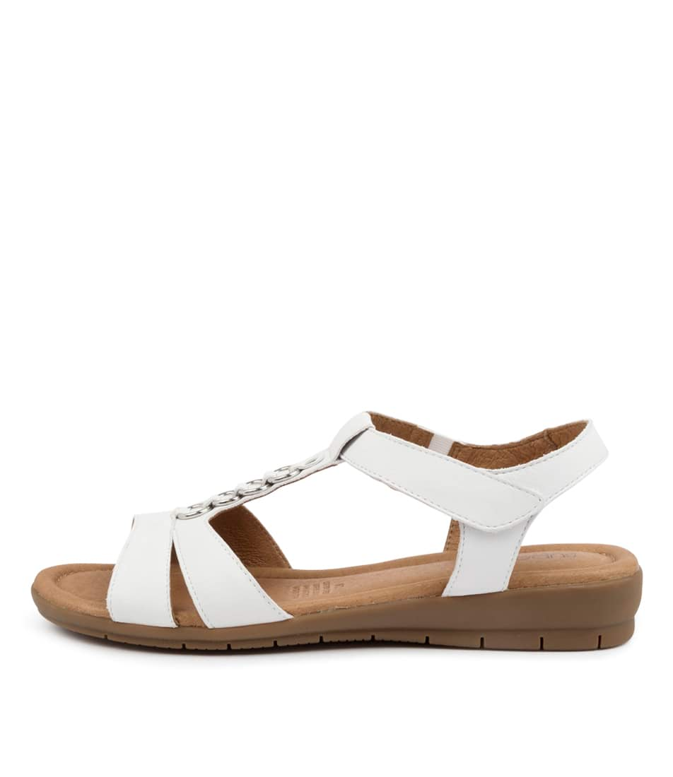 Buy Supersoft Frankie Su White Flat Sandals online with free shipping