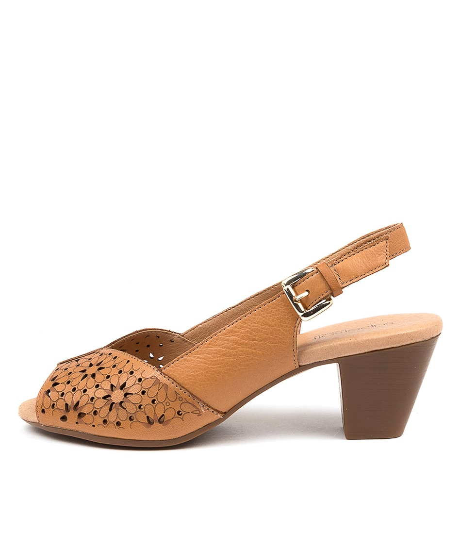 Buy Supersoft Idetta Su Tan Heeled Sandals online with free shipping