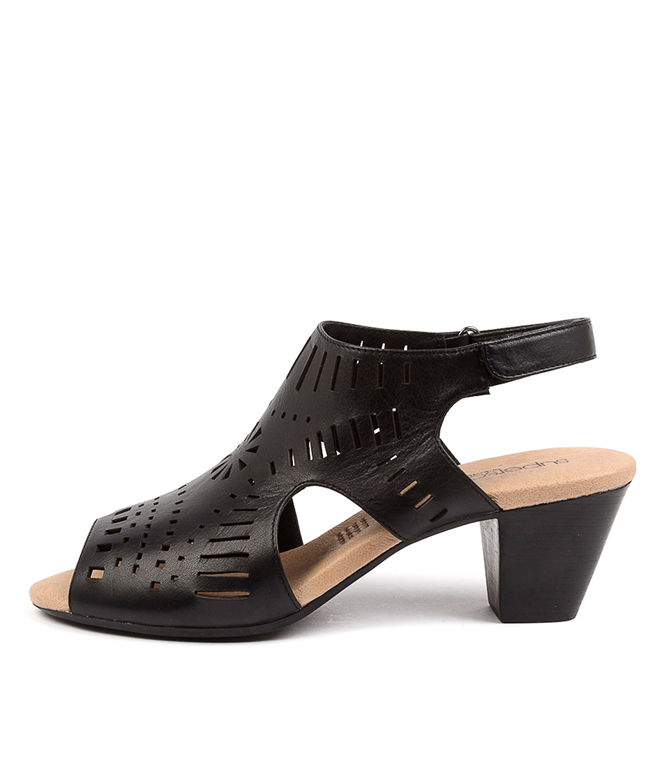 Buy Supersoft Ivy Su BlackHeeled Sandals online with free shipping