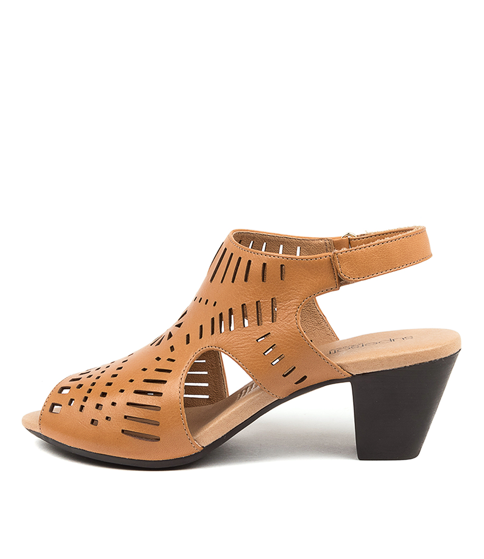 Buy Supersoft Ivy Su Tan Heeled Sandals online with free shipping