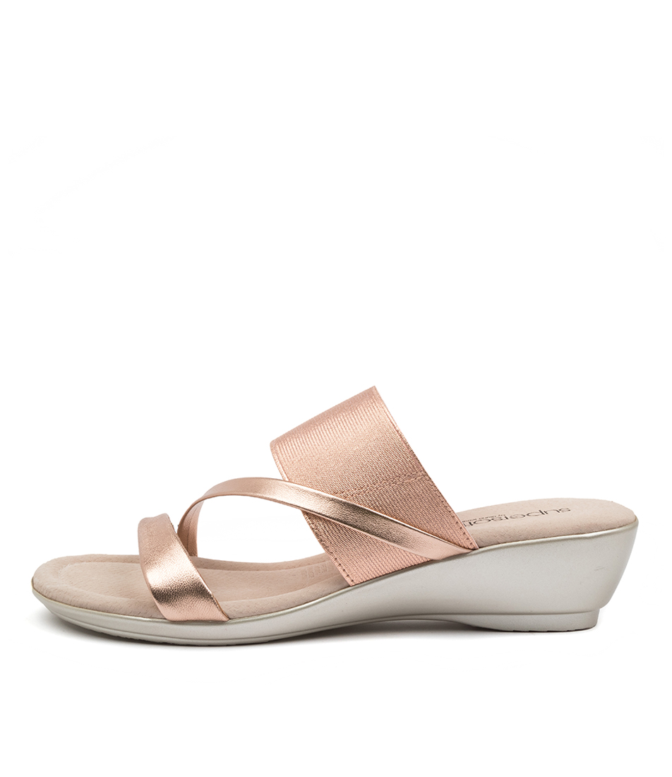 Buy Supersoft Paralee Su Rose Gold Heeled Sandals online with free shipping