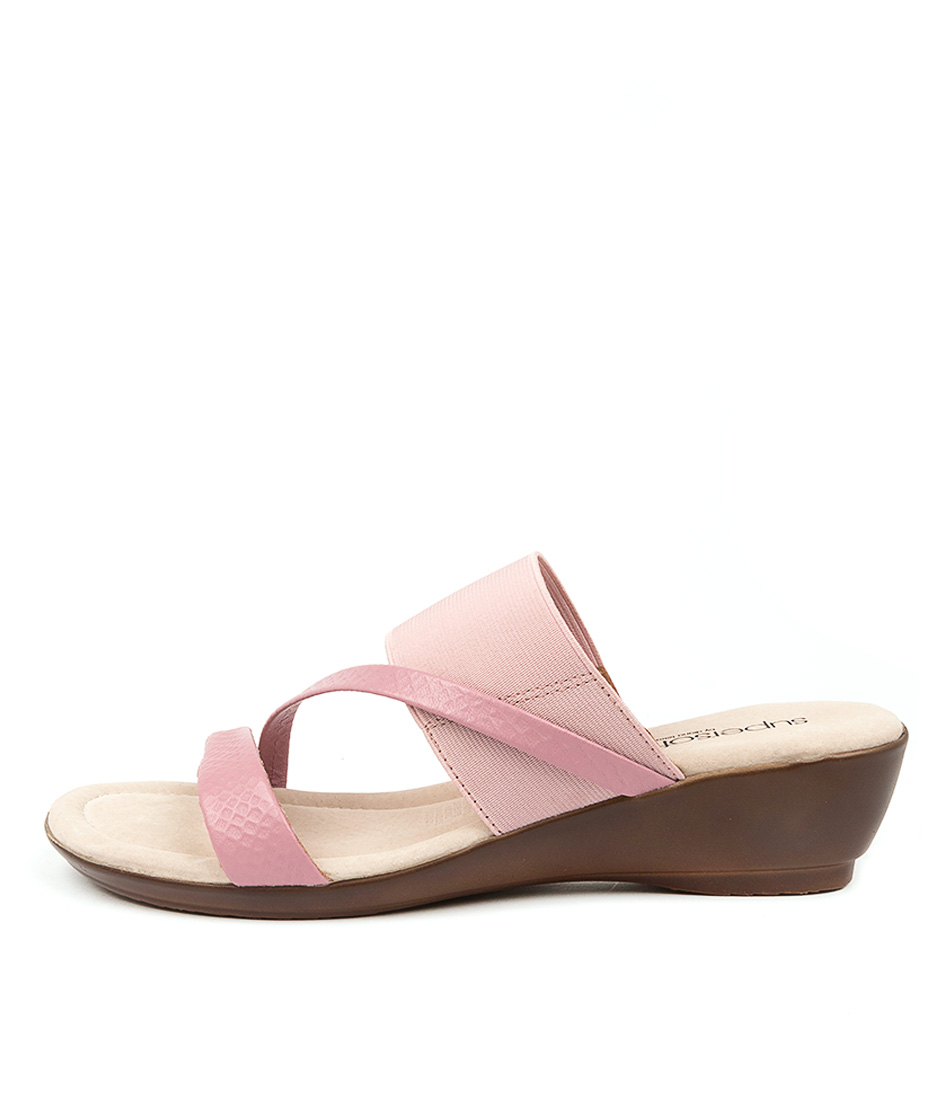 Buy Supersoft Paralee Su Pale Pink Pale Pink Heeled Sandals online with free shipping