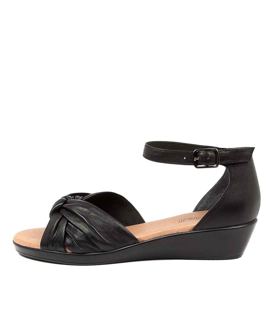 Buy Supersoft Victory Su Black Heeled Sandals online with free shipping