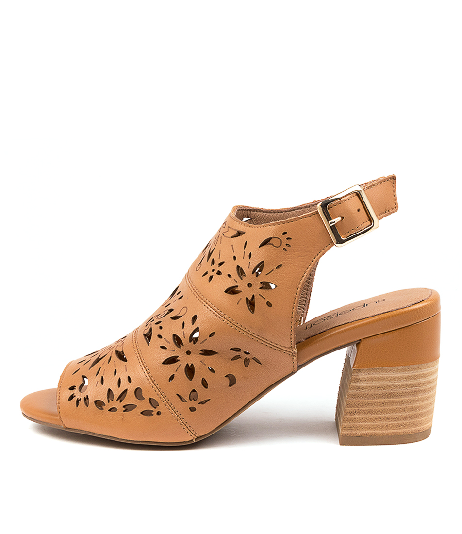 Buy Supersoft Duttons Su Tan Heeled Sandals online with free shipping