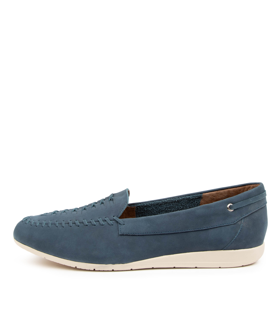 Buy Supersoft Fadila Su Denim Flats online with free shipping