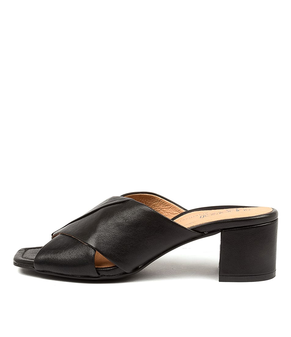 Buy Supersoft Jarrah Su Black Heeled Sandals online with free shipping
