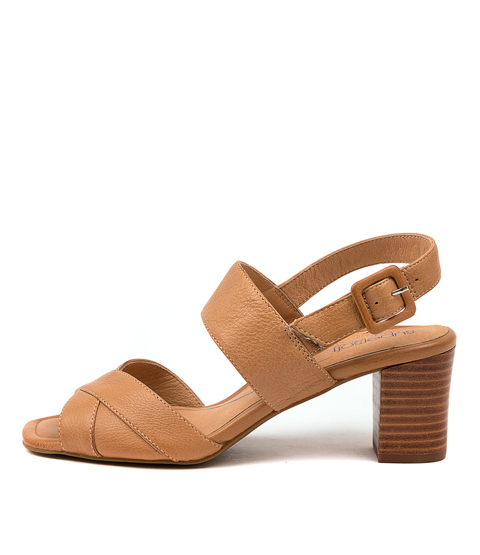Buy Supersoft Koonda Su Tan Heeled Sandals online with free shipping