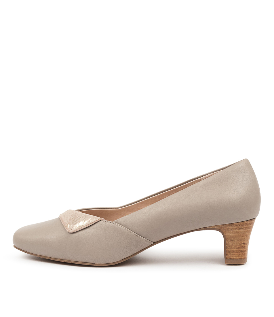 Buy Supersoft Marilee Su Taupe Taupe & Platinum High Heels online with free shipping