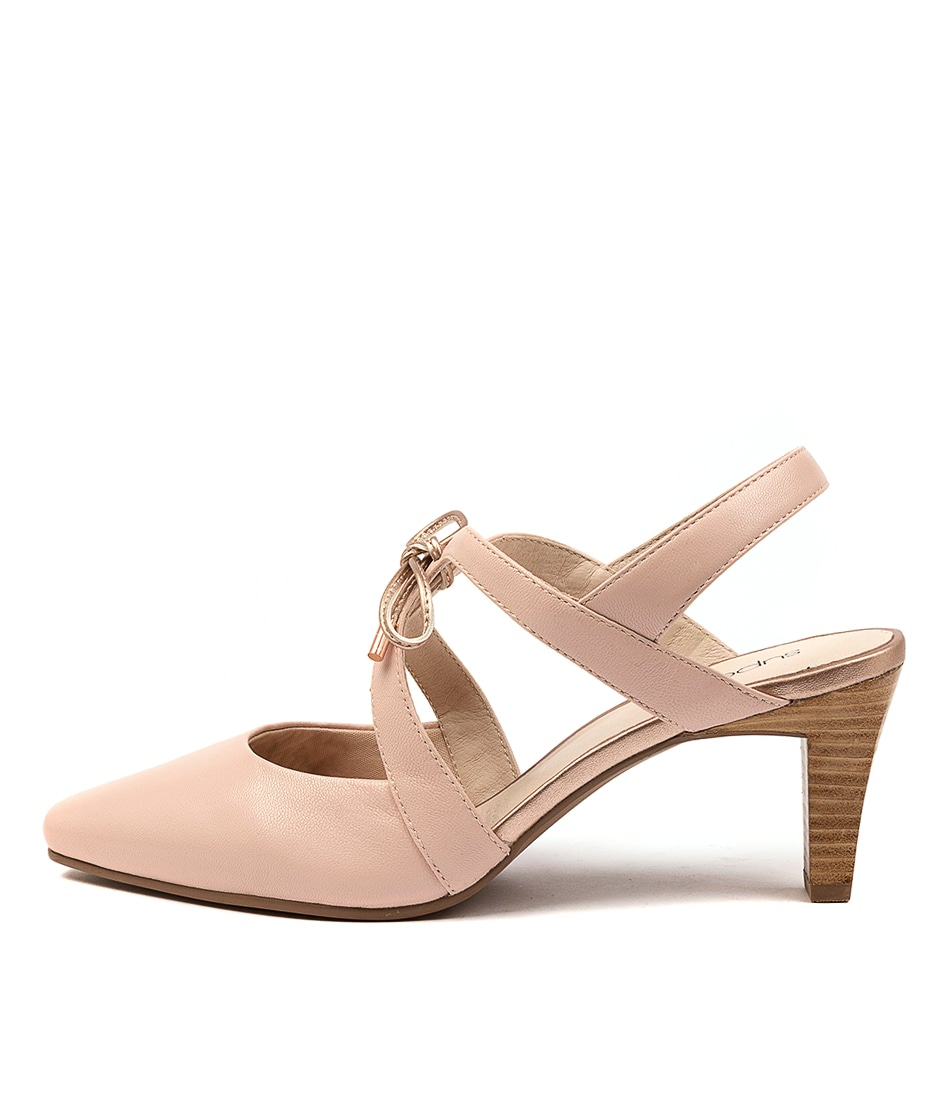 Buy Supersoft Meduza Su Blush Rose Gold High Heels online with free shipping