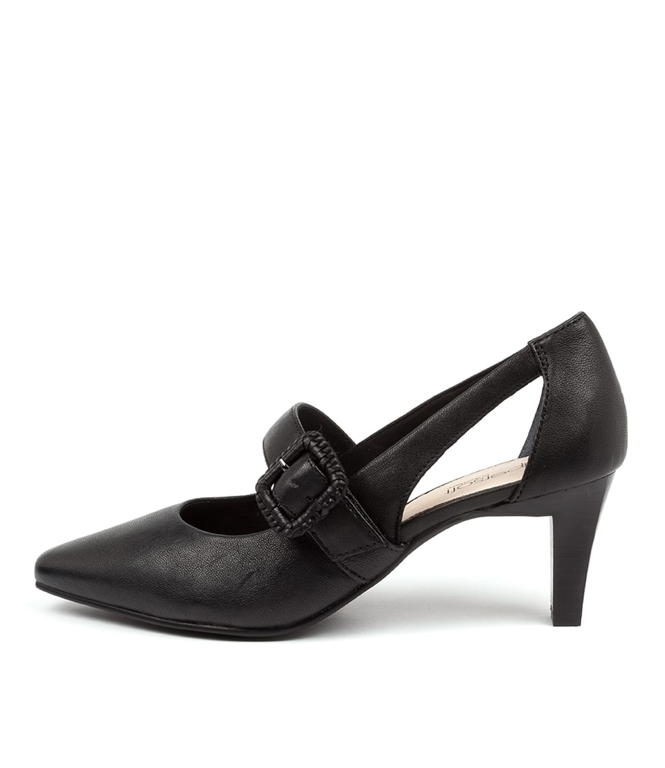 Buy Supersoft Mentonia Su Black High Heels online with free shipping