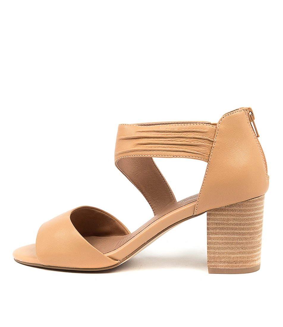 Buy Supersoft Nanave Su Lt Tan Heeled Sandals online with free shipping