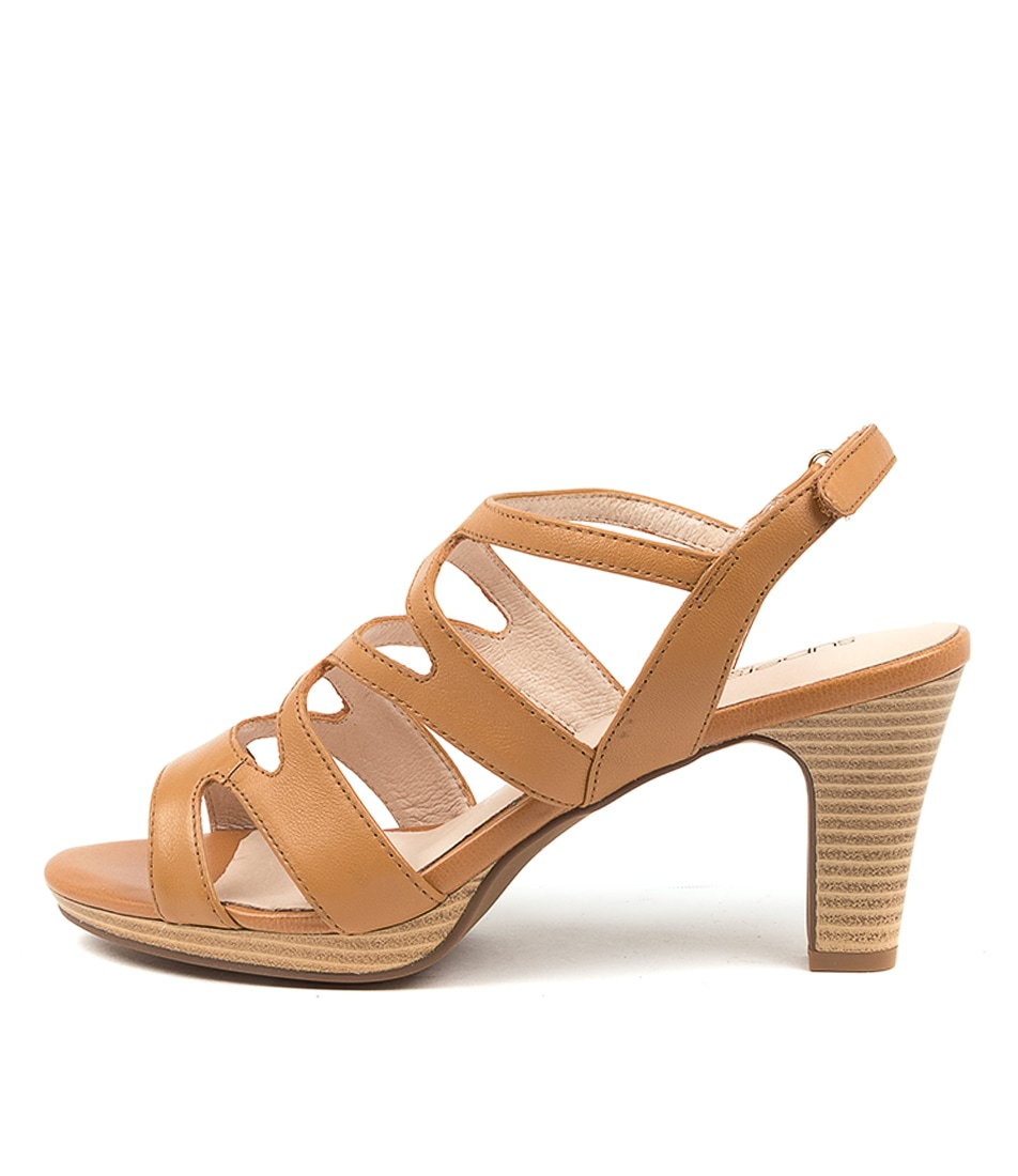 Buy Supersoft Sakana Su Tan Heeled Sandals online with free shipping