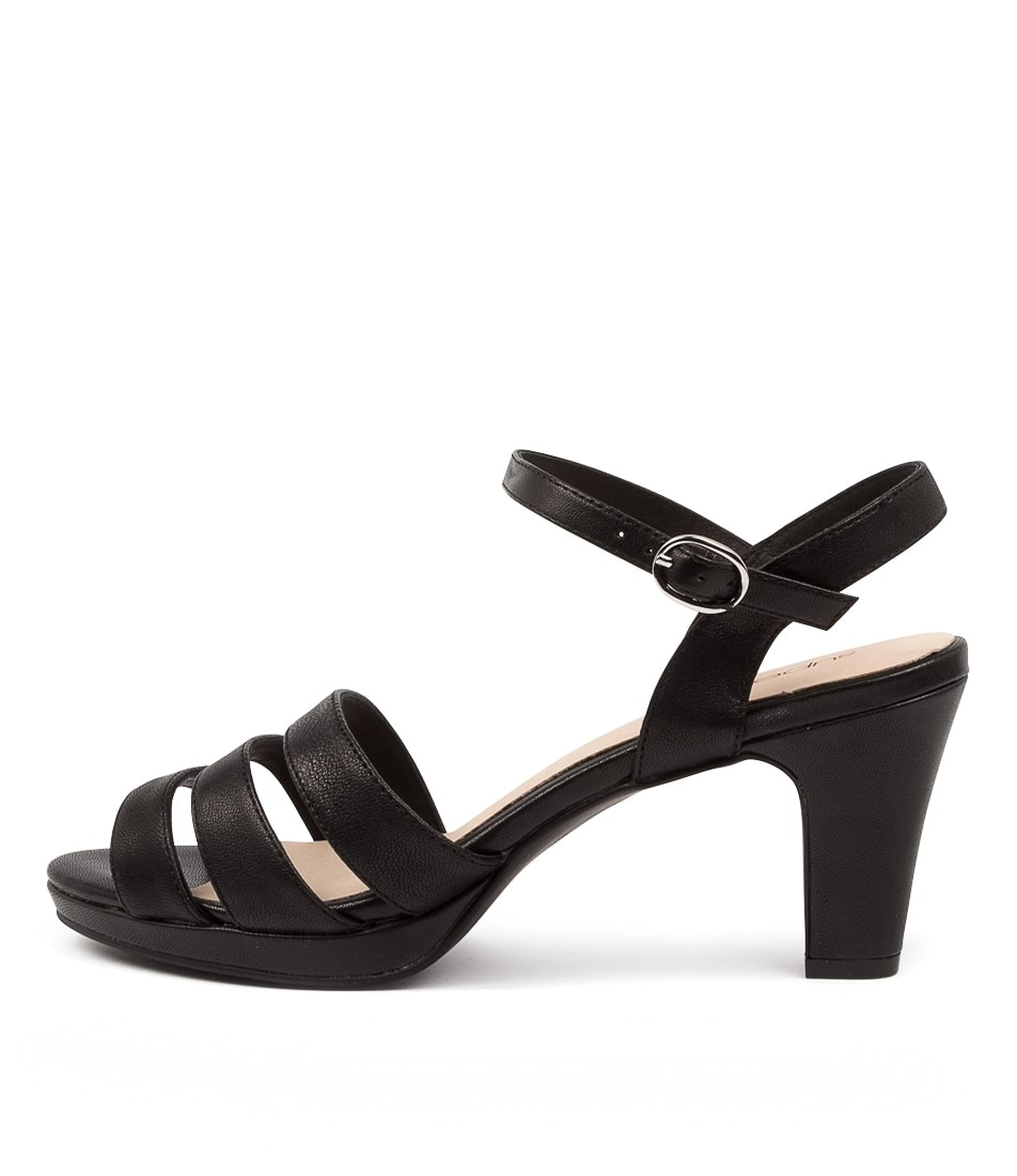 Buy Supersoft Stawell Su Black Heeled Sandals online with free shipping