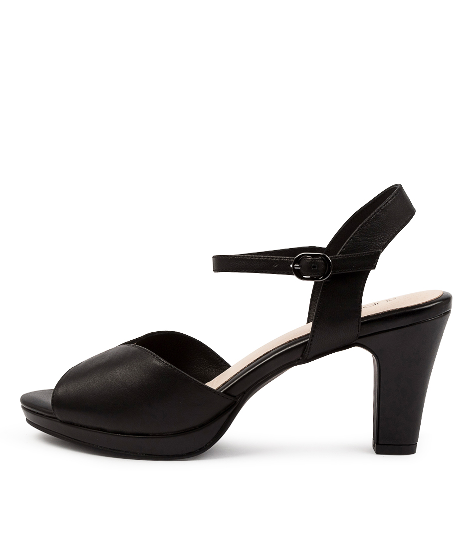 Buy Supersoft Sutton Su Black MultiHeeled Sandals online with free shipping