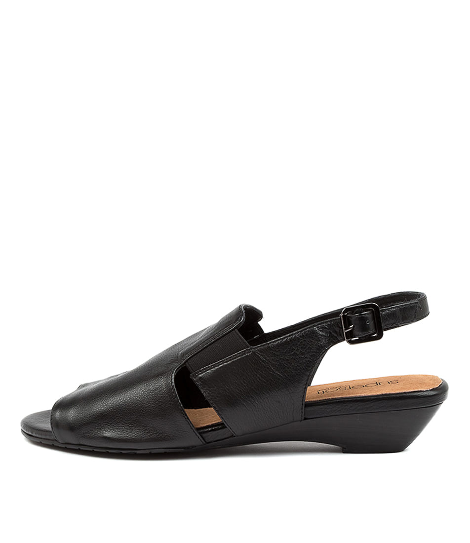 Buy Supersoft Benella Su Black Heeled Sandals online with free shipping