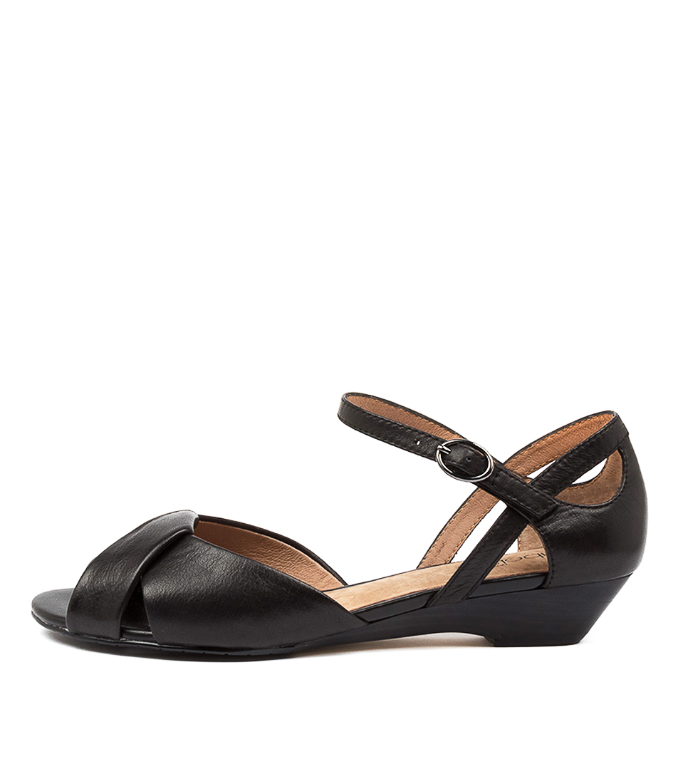 Buy Supersoft Brock Su Black Heeled Sandals online with free shipping