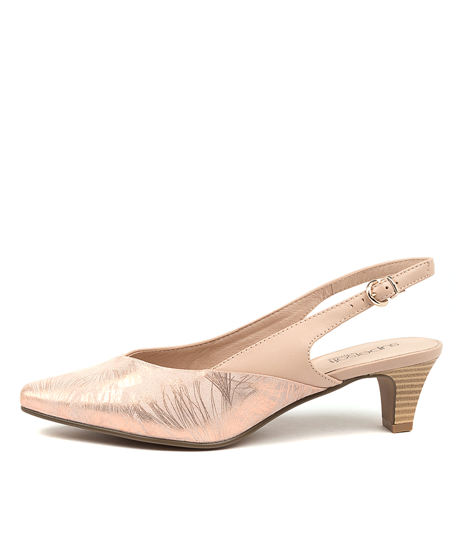 Buy Supersoft Lemnos Su Blush & Rose Blush High Heels online with free shipping