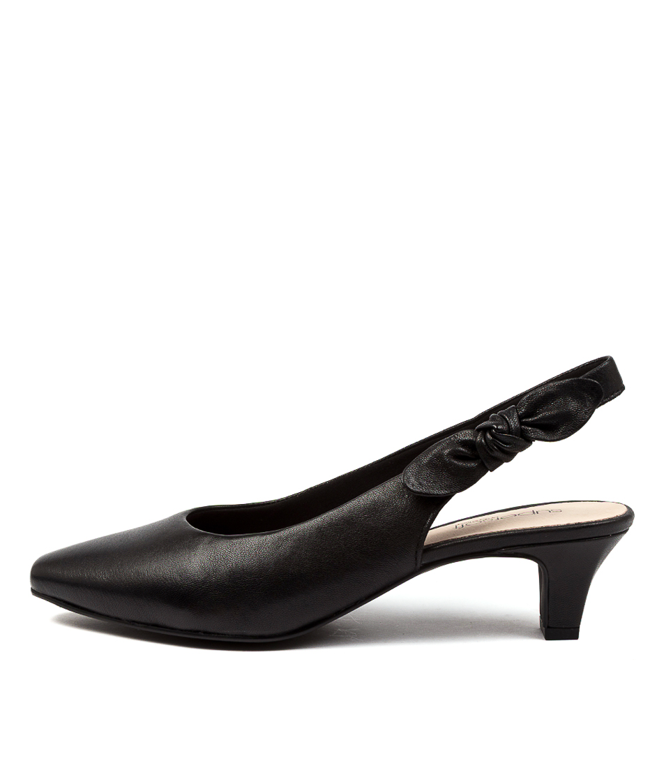 Buy Supersoft Lilybeth Su Black High Heels online with free shipping