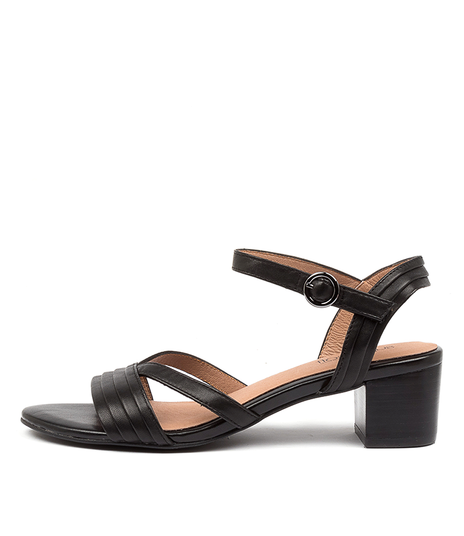 Buy Supersoft Colette Su Black Heeled Sandals online with free shipping
