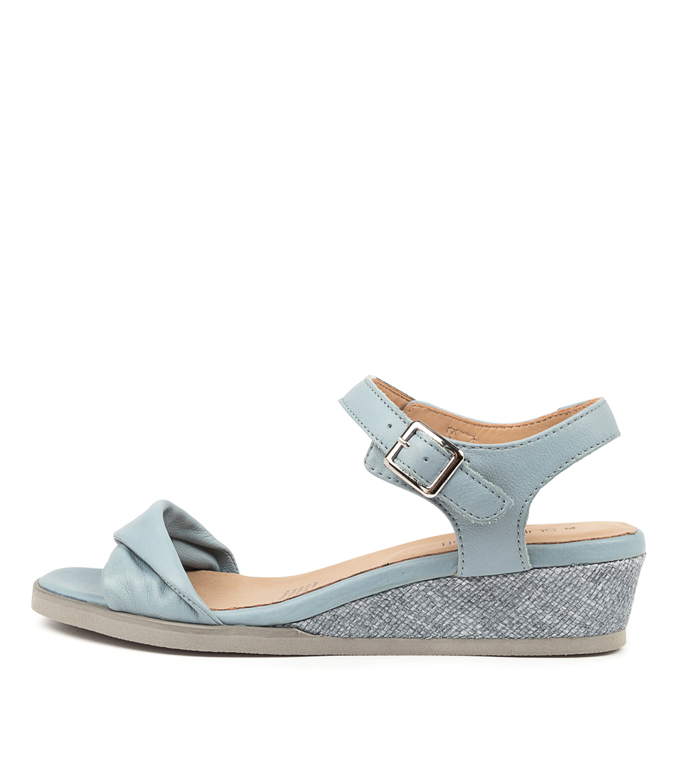 Buy Supersoft Afria Su Lt Denim Grey Sole Heeled Sandals online with free shipping