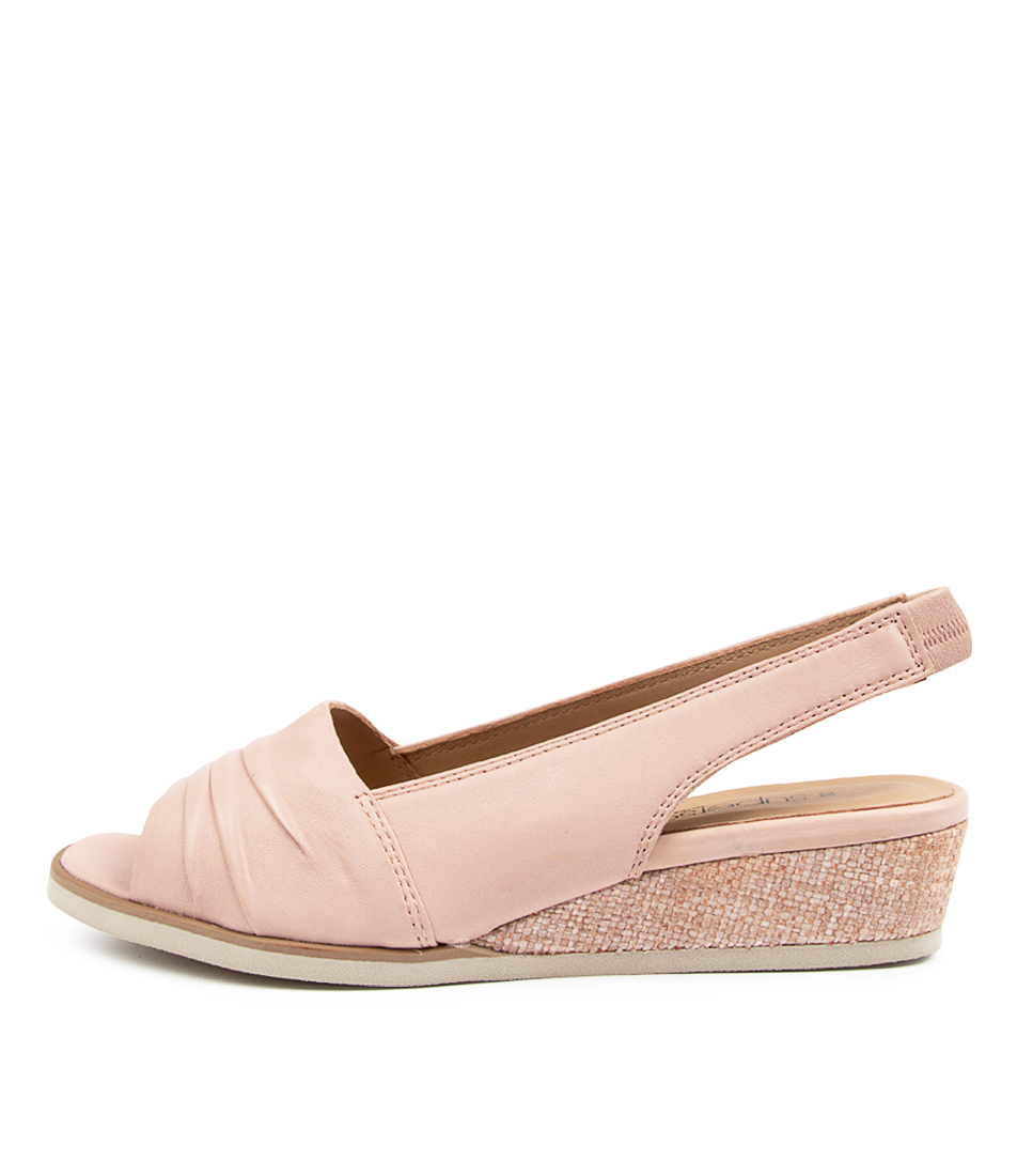 Buy Supersoft Alaric Su Rose Beige Sole Heeled Sandals online with free shipping