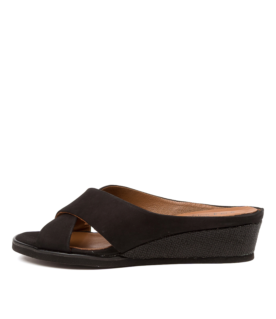 Buy Supersoft Archdale Su Black Black Sole Heeled Sandals online with free shipping