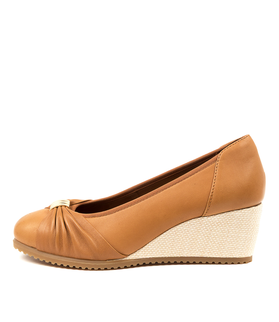 Buy Supersoft Brenda Su Tan Gum Sole High Heels online with free shipping