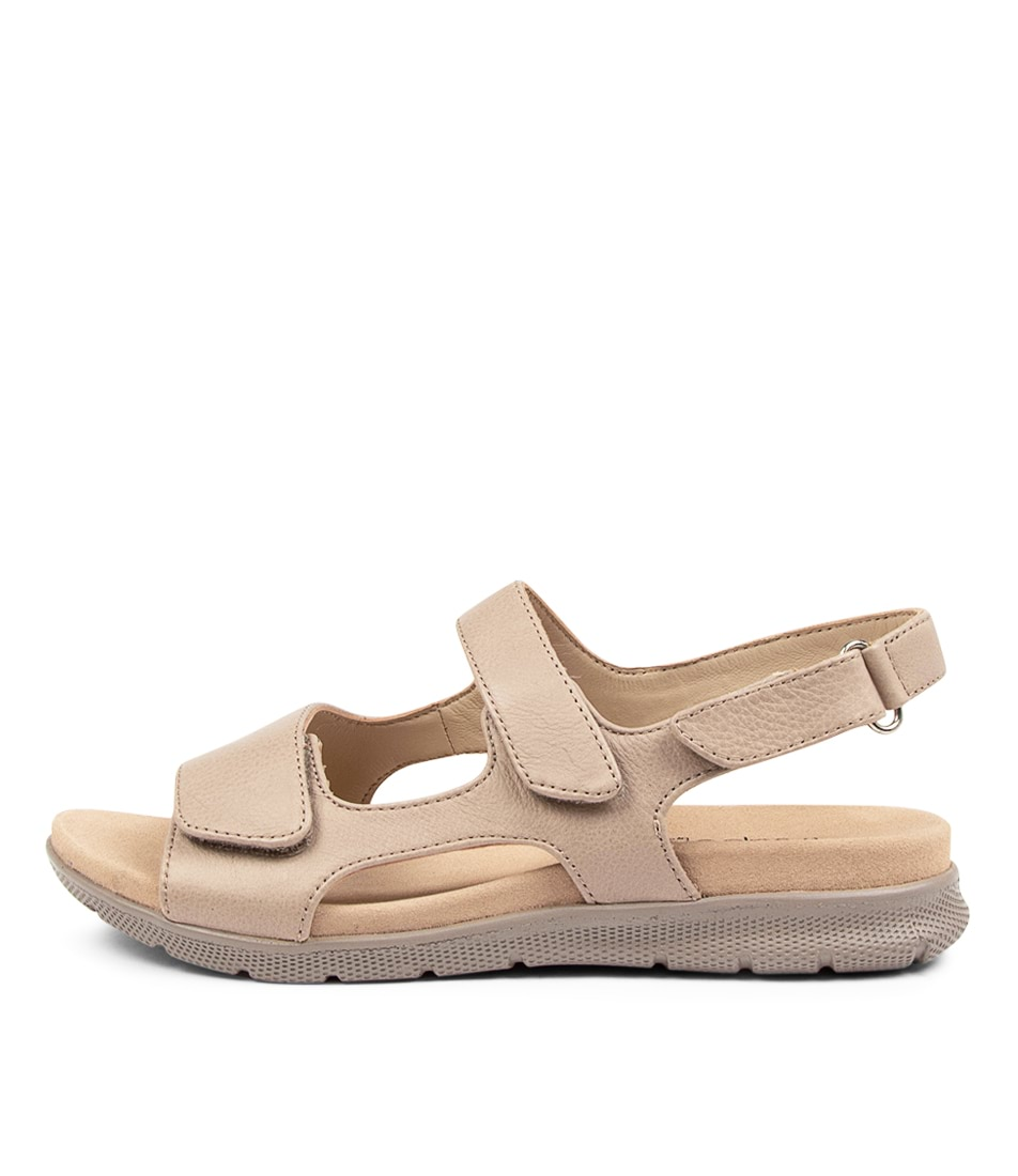 Buy Supersoft Julien Su Dk Stone Beige Sole Sandals Flat Sandals online with free shipping