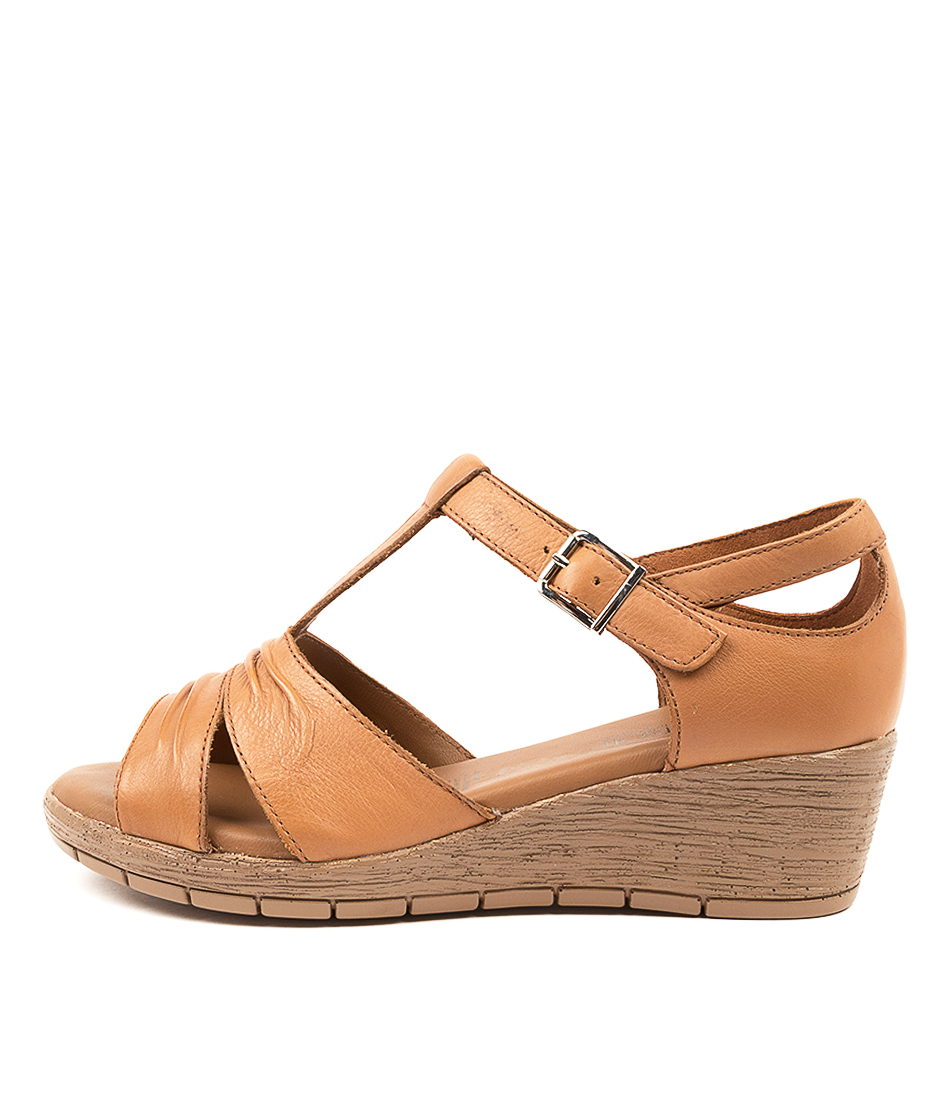 Buy Supersoft Maston Su Tan Gum Sole Heeled Sandals online with free shipping