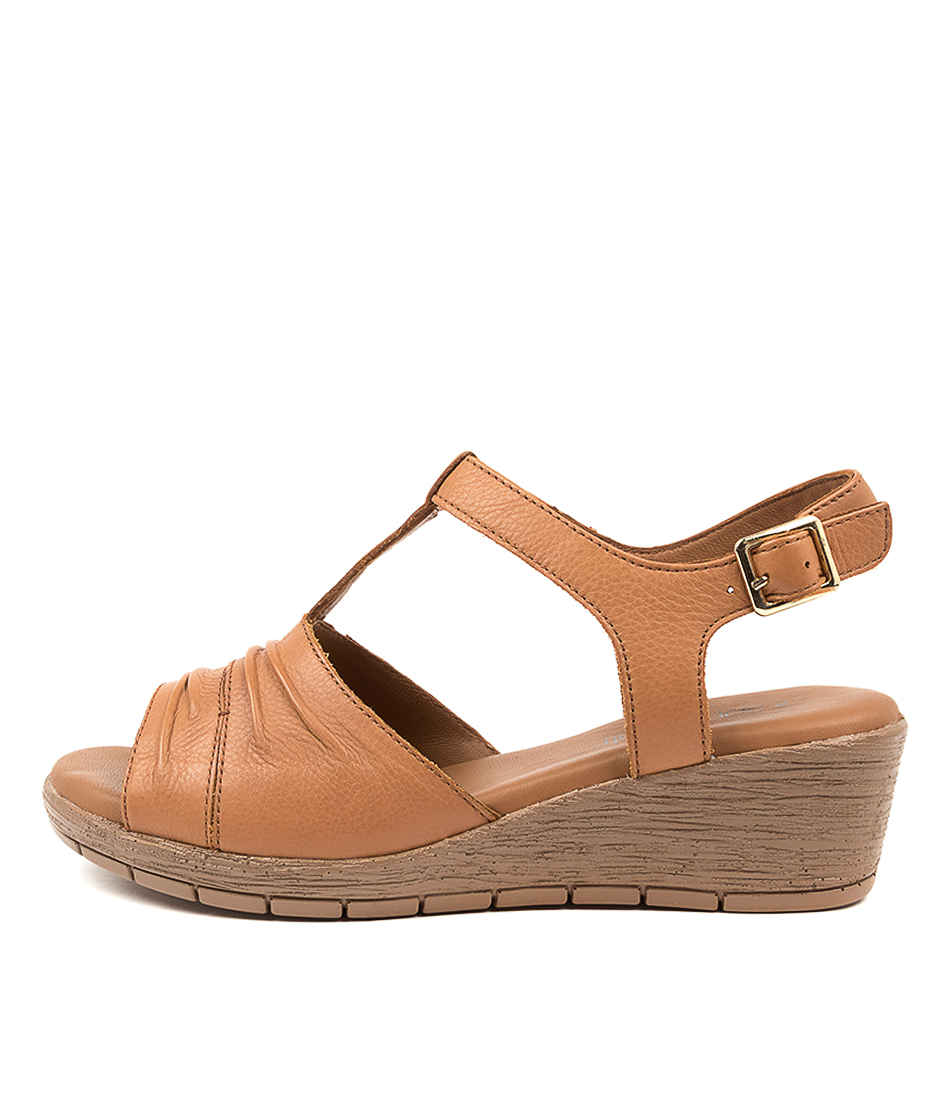 Buy Supersoft Merella Su Tan Dk Tan Sole Heeled Sandals online with free shipping
