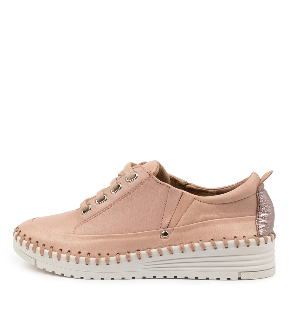 Buy Supersoft Thelie Su Blush Rose Gold Sneakers online with free shipping