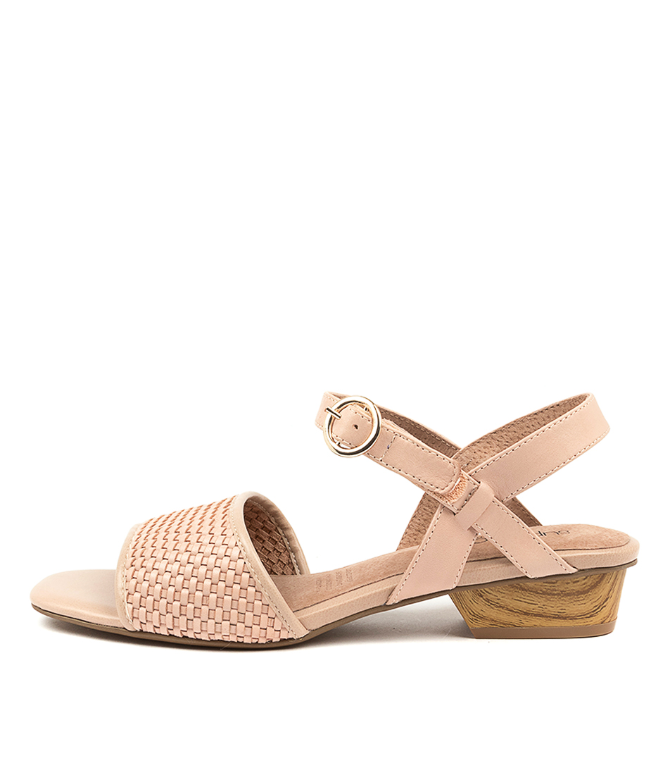 Buy Supersoft Sainte Su Blush Heeled Sandals online with free shipping