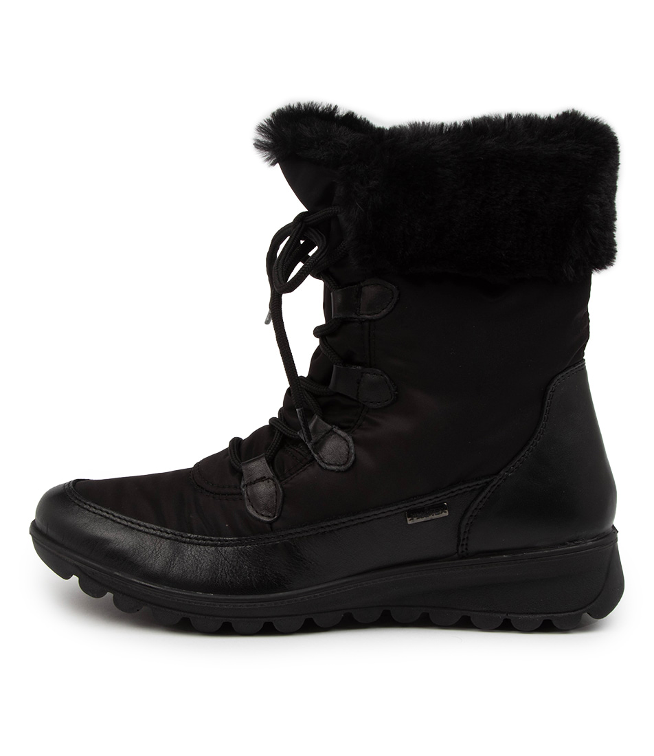Buy Supersoft Keebah Su Black Ankle Boots online with free shipping