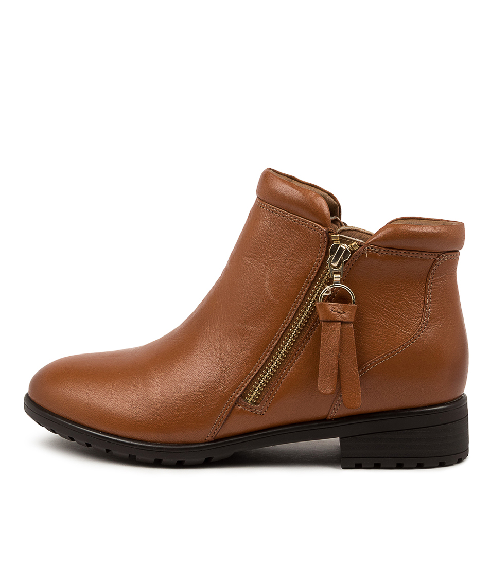 Buy Supersoft Elazer Su Tan Ankle Boots online with free shipping