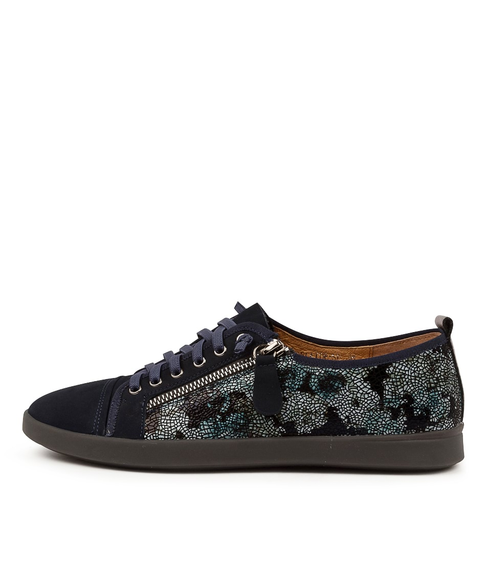 Buy Supersoft Adelaide Su Navy Metallic Sneakers online with free shipping
