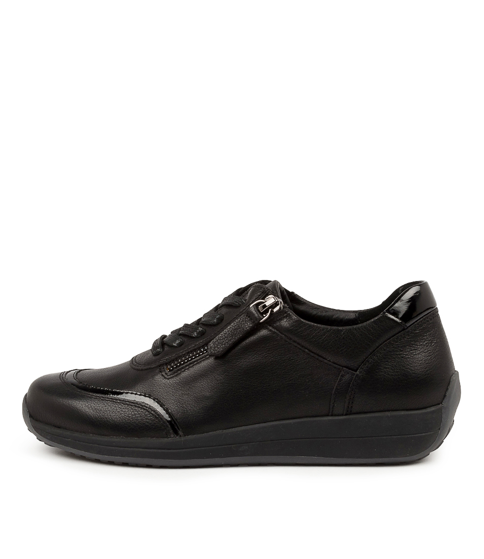 Buy Supersoft Baci Su Black Sneakers online with free shipping