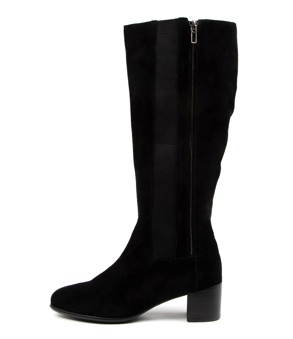 Buy Supersoft Garcelle Su Black Long Boots online with free shipping
