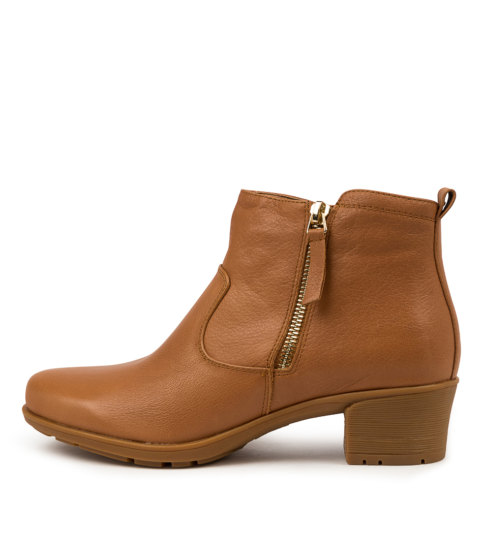 Buy Supersoft Idolina Su Tan Ankle Boots online with free shipping