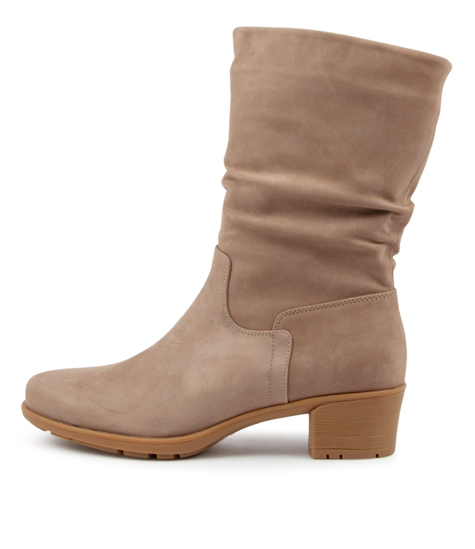 Buy Supersoft Indy Su Latte Calf Boots online with free shipping