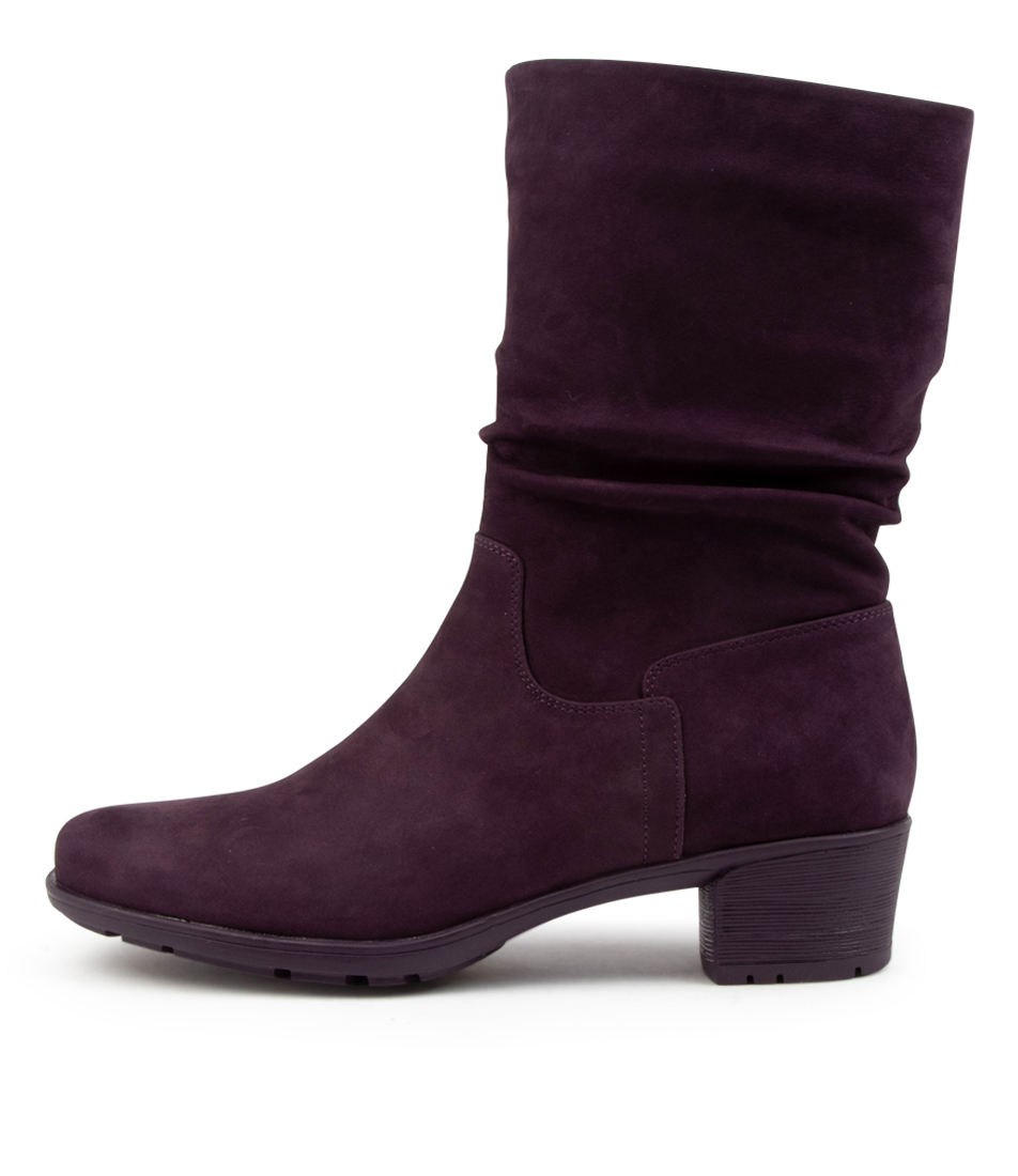 Buy Supersoft Indy Su Purple Calf Boots online with free shipping