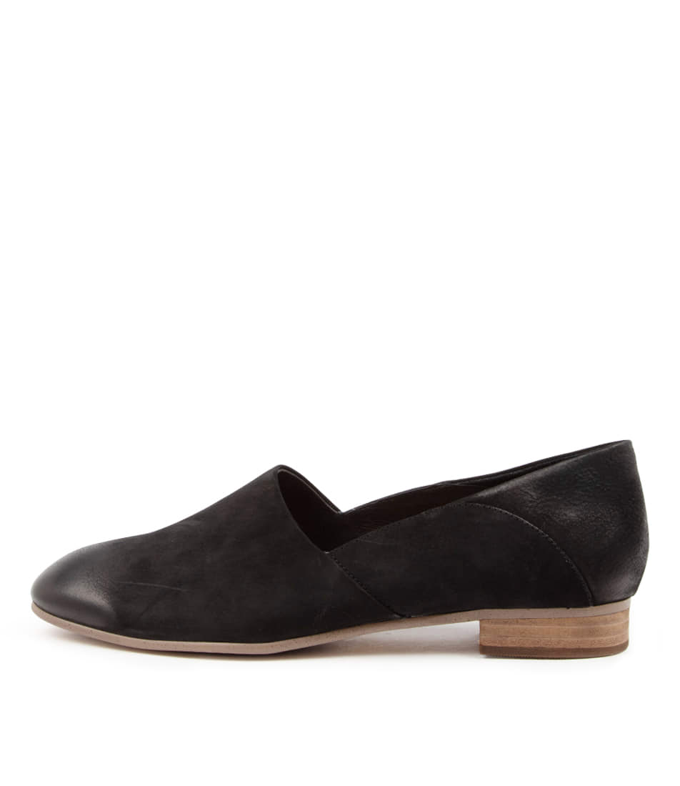 Buy Supersoft Jelene Su Black Natural Heel Flats online with free shipping