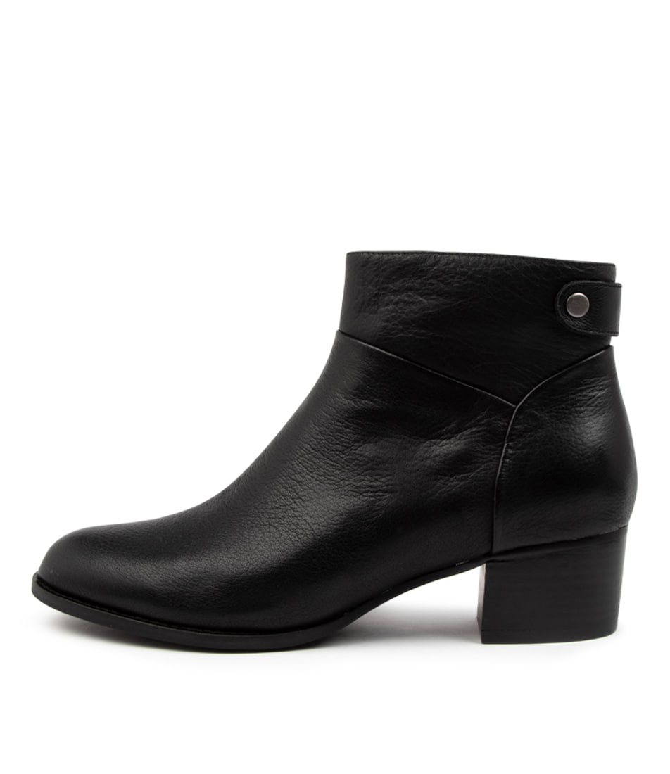 Buy Supersoft Priley Su Black Ankle Boots online with free shipping