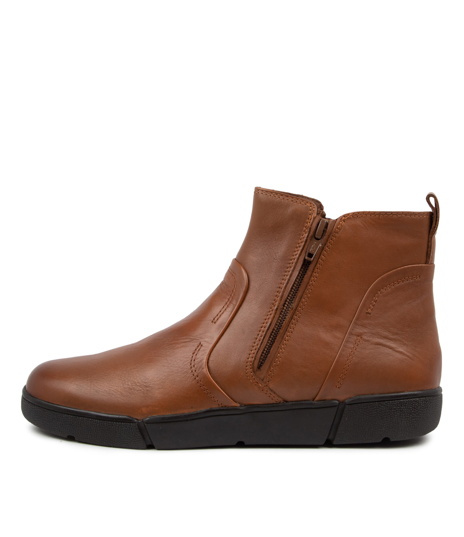 Buy Supersoft Afron Su New Tan Ankle Boots online with free shipping