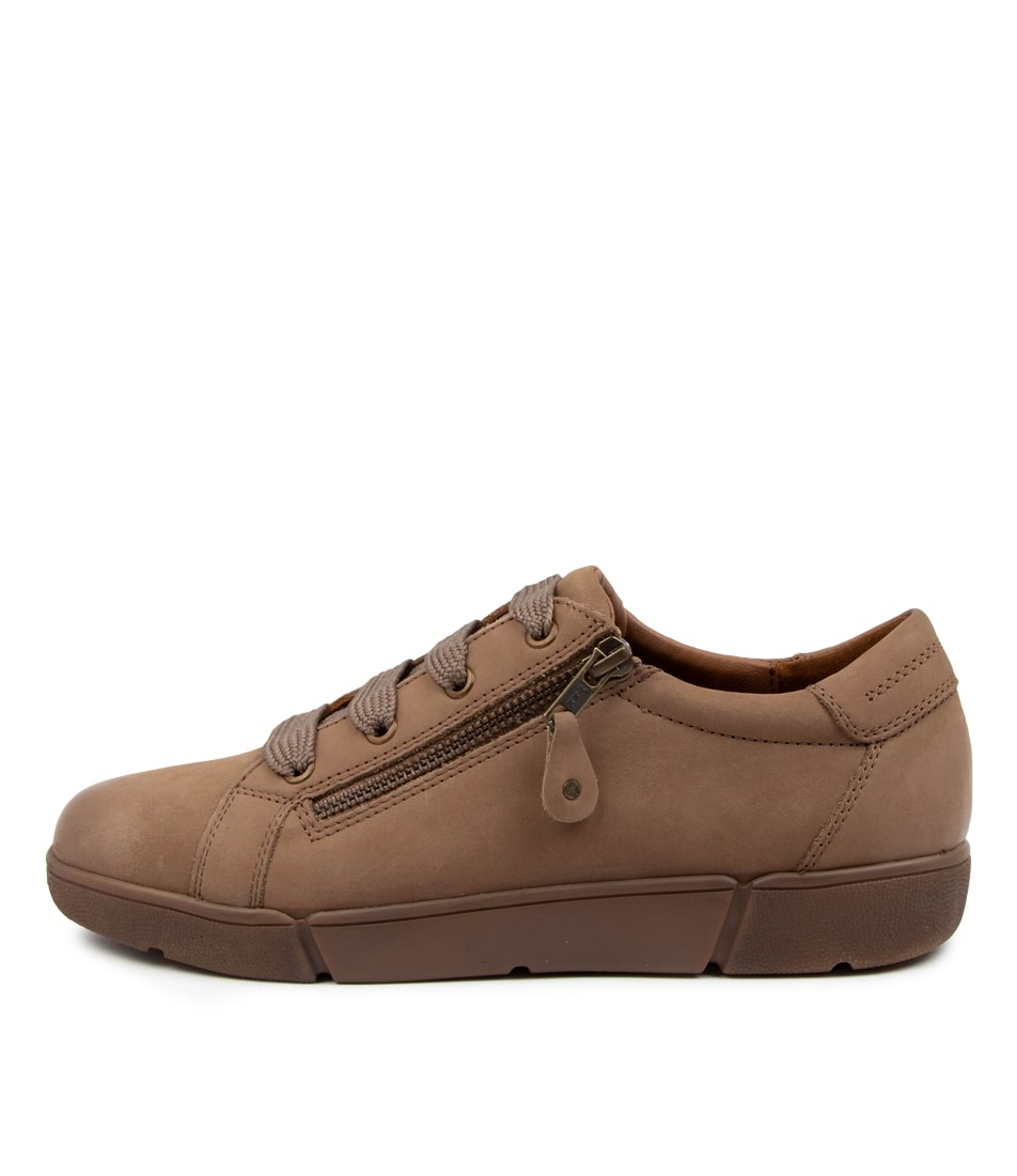 Buy Supersoft Allestree Su Dk Taupe Sneakers online with free shipping